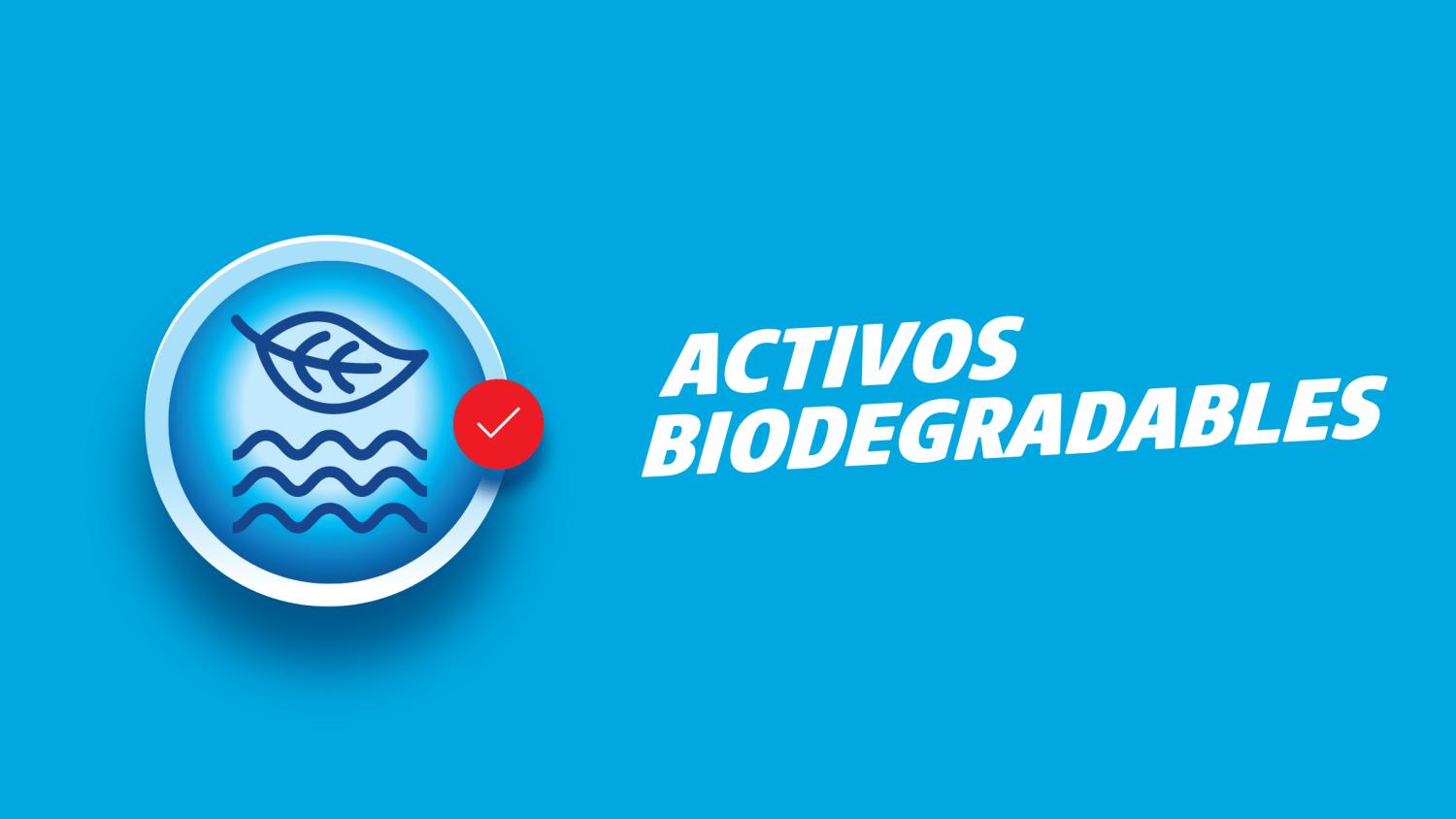 activos biodegradables, deja, ayuda al medio ambiente, formula libre de fosfatos, cuida tu ropa, protege el planeta